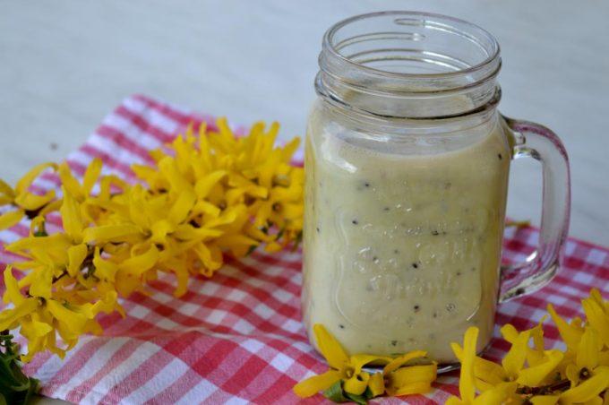 Der Kiwi-Banane-Shake ist das perfekte Getränk um den Sommer zu genießen.