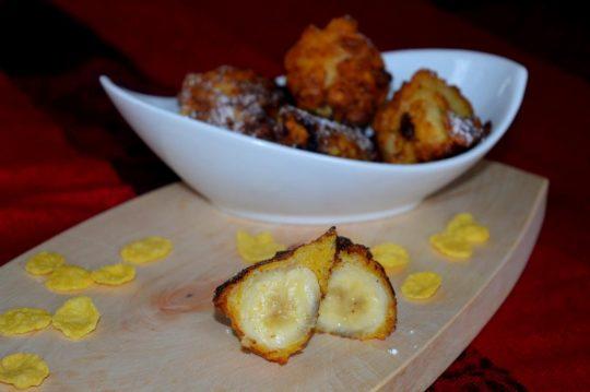 Die frittierte Banane ist zwar etwas Aufwendig in der Zubereitung, ist aber jede Mühe wert!