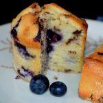Stracciatella-Blaubeer-Kuchen
