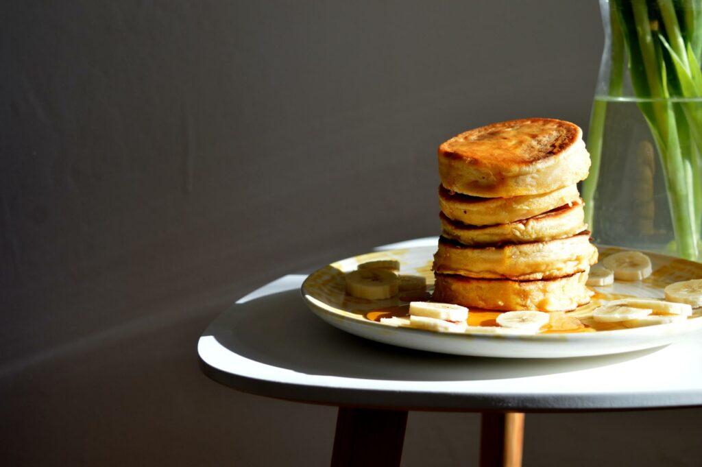 Pancakes Pfannkuchen mit Karrote