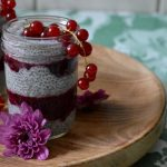Chia Pudding mit Johannisbeeren [enthält WERBUNG*]