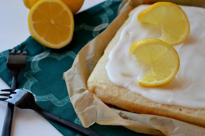 Zitronenblechkuchen super einfach