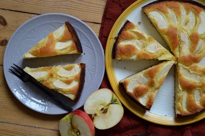 Rührkuchen mit Äpfeln
