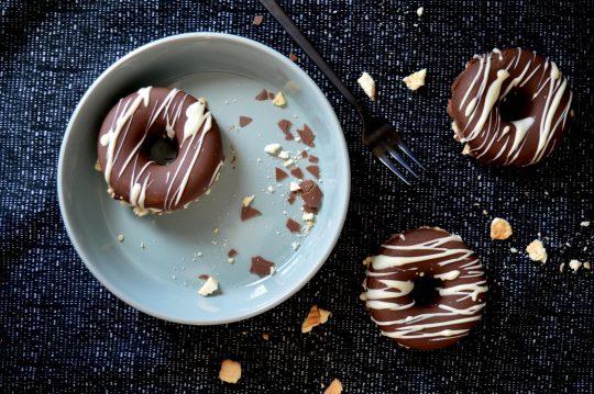 Donuts gefüllt mit Pudding