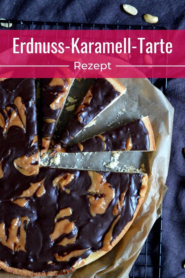 Erdnuss-Karamell-Tarte
