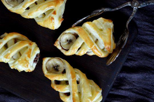 Schoko-Bananen-Päckchen