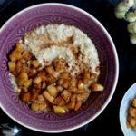 Cremiges Porridge mit karamellisierten Äpfeln
