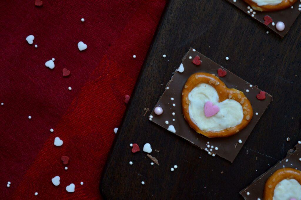 Einfaches DIY und Geschenk aus der Küche für Valentinstag