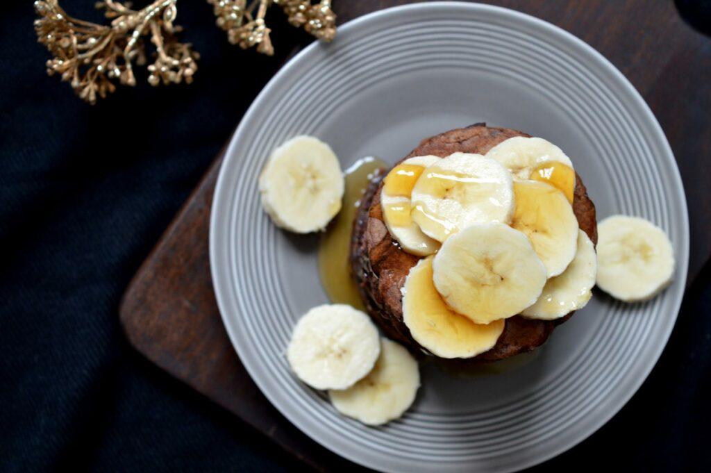 Einfache und schnell gemachte Schoko-Pancakes