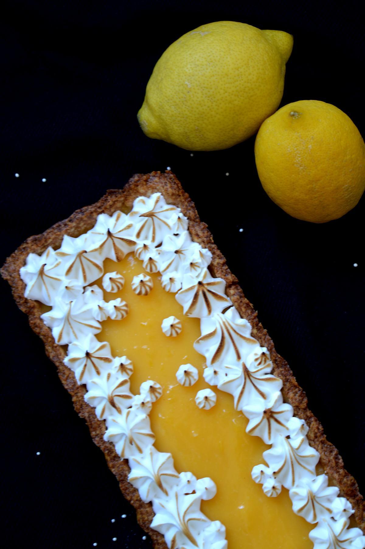 Schnelle Tarte au citron